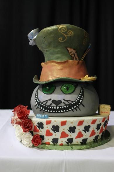 My favorite Alice in Wonderland cake - from a vendor's table.
