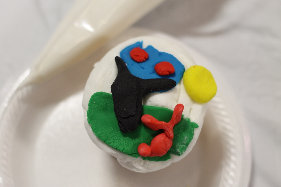 My landscape cupcake