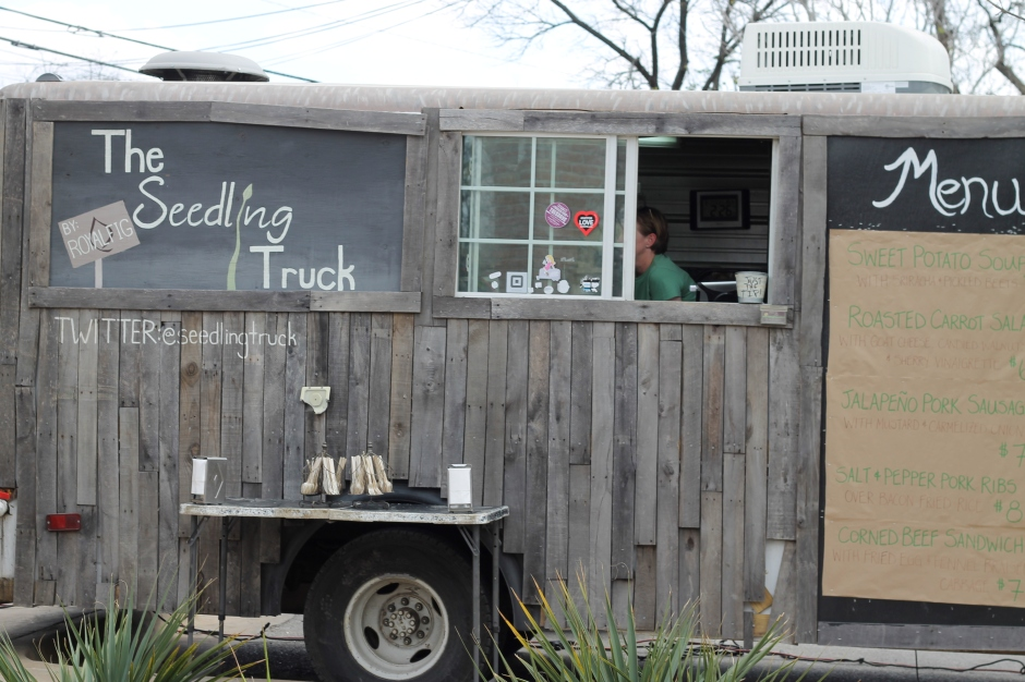 Adorable food truck