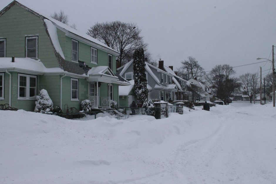 Quincy, MA winter